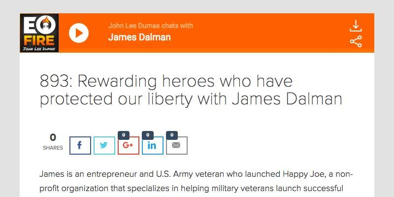 James Dalman Entrepreneur on Fire
